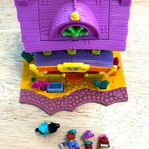 Vintage Polly Pocket Light Up Horse Ranch Saloon